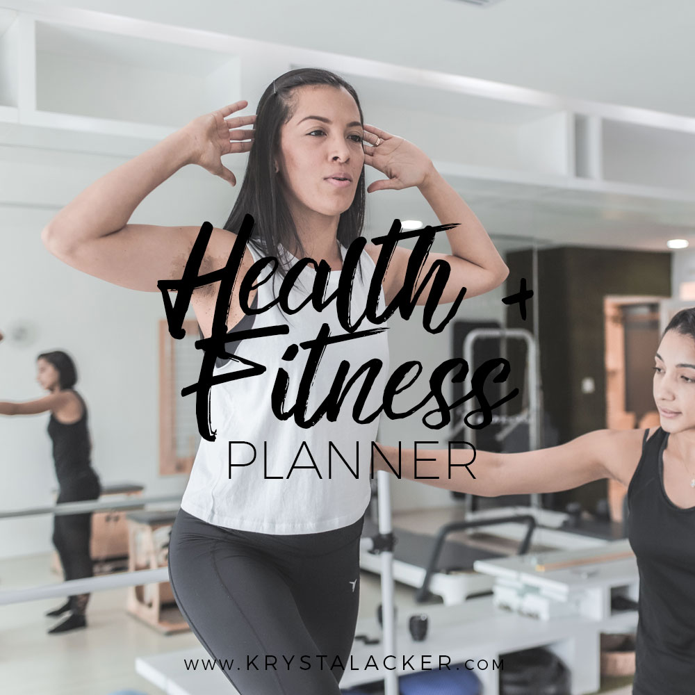 The Personal Assistant Health + Fitness Planner