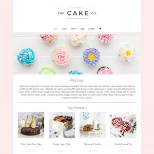 The Cake Co - Website Template