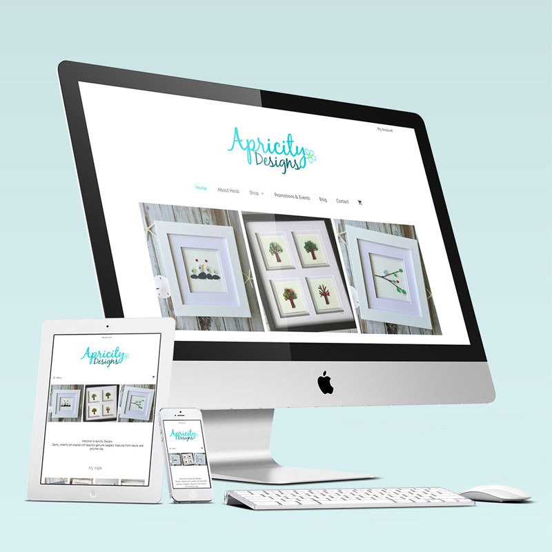 Apricity Designs Website Launch